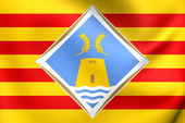 Flag of Formentera, Spain.  — Stock Photo