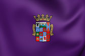 Flag of Palencia Province, Spain.  — Stock Photo