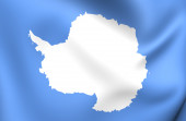 Flag of Antarctica — Stock Photo
