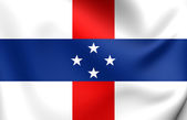Flag of Netherlands Antilles (1954-2010) — Stock Photo