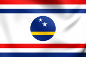 Governor of Curacao Flag — Stock Photo