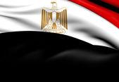 Flagga Egypten — Stockfoto