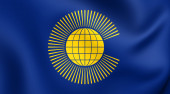 Commonwealth of Nations Flag — Stock Photo