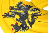 Flag of Flanders — Stock Photo