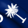 Flag of South Carolina, USA. — Stock Photo #70176391