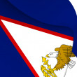 Flag of American Samoa — Stock Photo #70176735