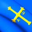 Asturias Flag, Spain. — Fotografia Stock  #70176771