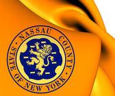 Flag of Nassau County, USA.  — Stock Photo