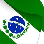Flag of Parana, Brazil. — Stock Photo #70345229