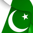 Flag of Pakistan — Stock Photo #71003607