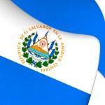 Flag of El Salvador — Stock Photo #71003757