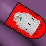 Flag of Avila City, Spain. — Stock Photo #71003977