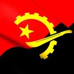 Flag of Angola — Stock Photo #71003999