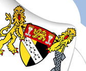 Norfolk Coat of Arms, England. — Stock Photo