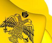 Grekisk-ortodoxa kyrkan flagga — Stockfoto