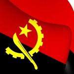 Flag of Angola — Stock Photo #71635039