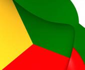 Flag of Zabaykalsky Krai, Russia. — Stock Photo