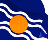 Flag of West Indies Federation (1958-1962) — Stock Photo