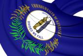 Flag of Kentucky, USA. — Stock Photo