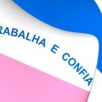 Flag of Espirito Santo, Brazil. — Stock Photo #73631165