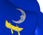 Flag of Trosa Municipality, Sweden. — Stock Photo