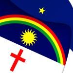 Flag of Pernambuco, Brazil. — Stock Photo #74216637