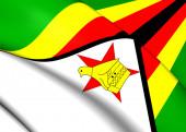 Flag of Zimbabwe — Stock Photo