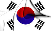 Flag of the South Korea — Stock Photo