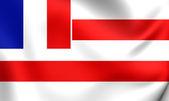 Kingdom of Raiatea Flag — Zdjęcie stockowe