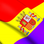 Flag of Second Spanish Republic — Stock Photo #77367046