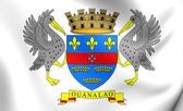 Flag of Saint-Barthelemy — Stock Photo