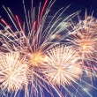 Beautiful fireworks show — Stock Photo #54756109