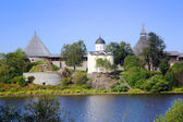 Staraya Ladoga fortress in Russia — Stock Photo