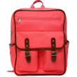 Pink school backpack isolated — Stock Photo #64563725