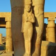 Fragment of Statue of Ramses II in Luxor Egypt — Stock Photo #65713057