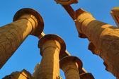 Top of columns in Karnak temple — Stock fotografie