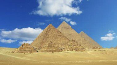 Giza Cairo in Egypt — Stockvideo