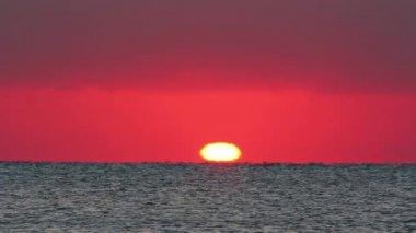 Red Sea sunrise — Vidéo
