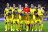Ukraine National Football Team — Stock Photo