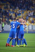 UEFA EURO 2016 Qualifying game Ukraine vs Slovakia — Stock Photo