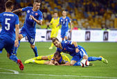 UEFA EURO 2016 Qualifying game Ukraine vs Slovakia — Stockfoto