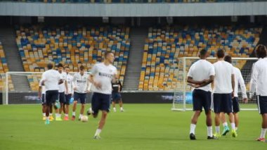FC Internazionale training session — Stock Video