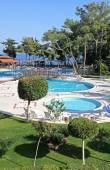 Mediterranean resorthotel in türkei — Stockfoto