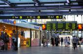 Central railway station in Malmo, Sweden — Stock Photo