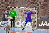 Handball game Motor vs Aalborg — Photo