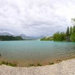 Panoramic view of Bled Lake, Slovenia — Stock Photo #57553355