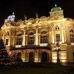 Juliusz Slowacki Theatre in Krakow, Poland — Stock Photo #59918545