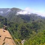 Rainforest hills on Madeira island, Portugal — Stock Photo #60048503
