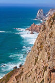 El punto más occidental de europa, cabo da roca, portugal — Foto de Stock