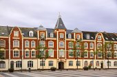 Market Square in Fredericia city, Denmark — Foto de Stock